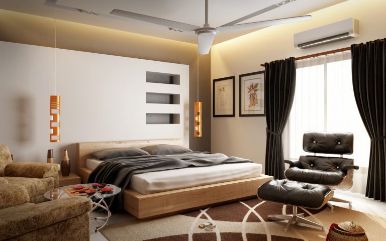 Guestroom Interior Design at Township FFL Group